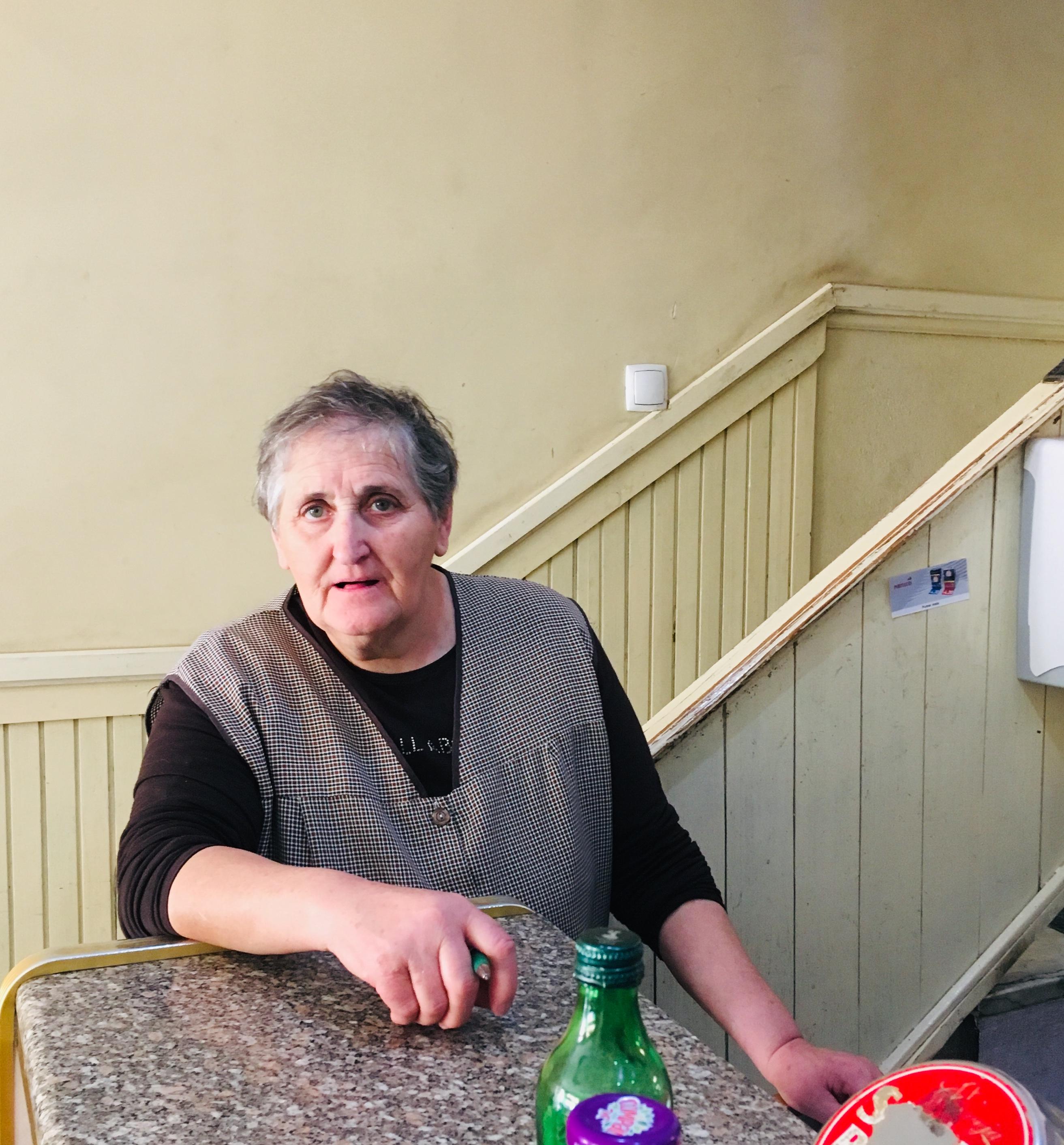 Donna Juliana do café em Matança
